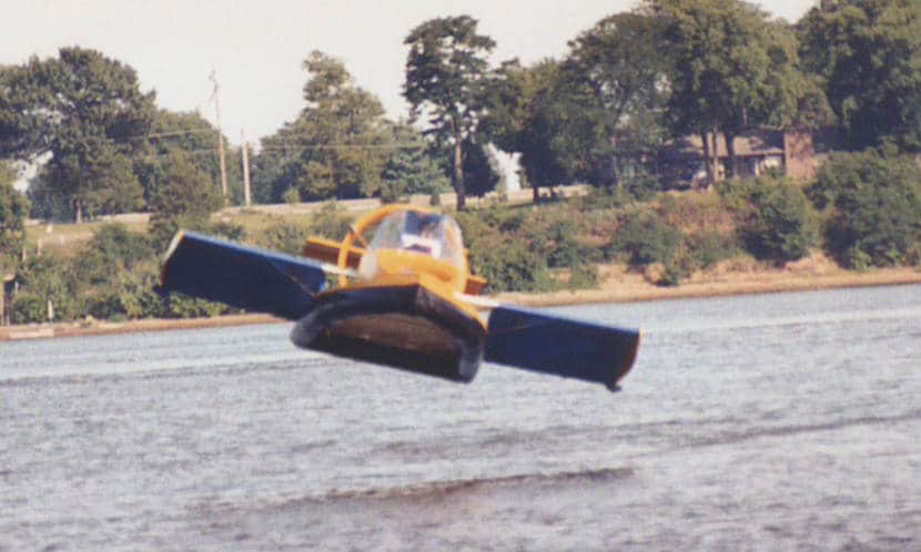 El hovercraft que vuela