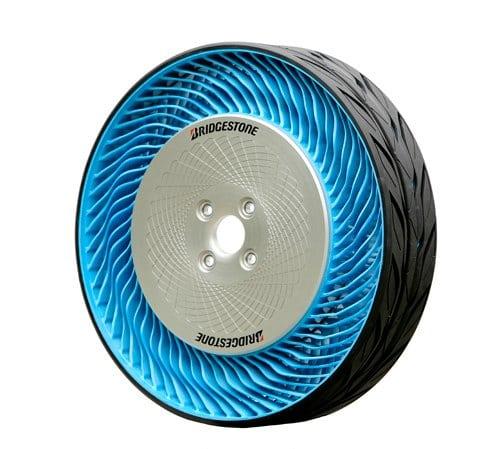 Air Free Concept Tire, rueda sin aire no neumática de Bridgestone