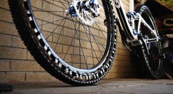 Ruedas de bici no neumaticas