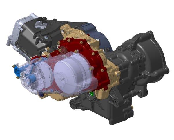 IHE Motor térmico de combustión interna Open Source