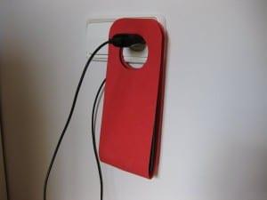 Soporte o funda goma EVA para móvil