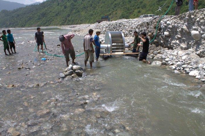 Bomba de agua para zonas subdesarrolladas
