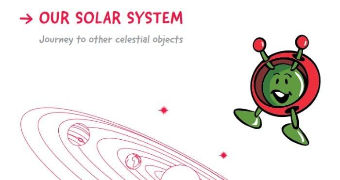 Proyecto de invetigción para niños de la ESA sobre nuestro sistema solar