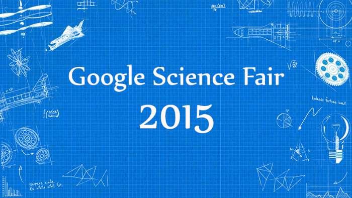Finalistas del Google Science Fair 2015 , la feria de ciencia de google