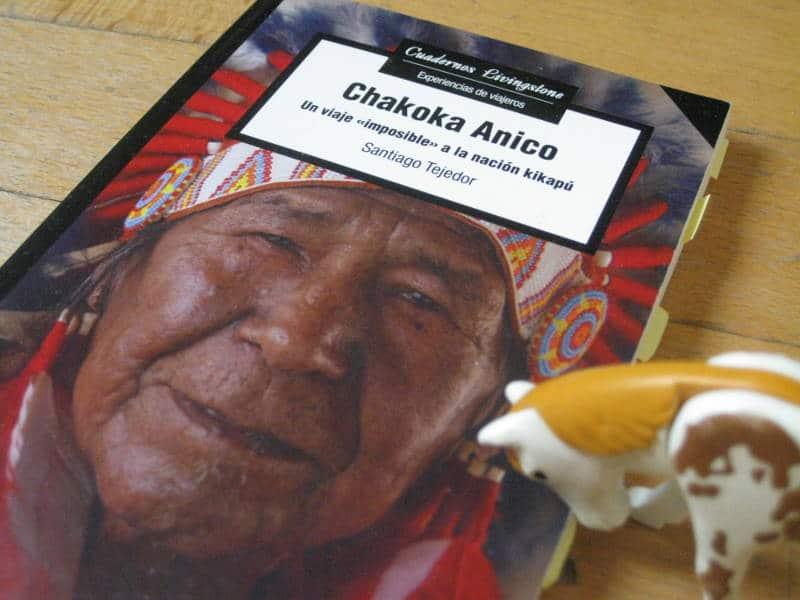 Libro de Santiago Tejedor a la nación india de los kikapú para entevistar a su líder