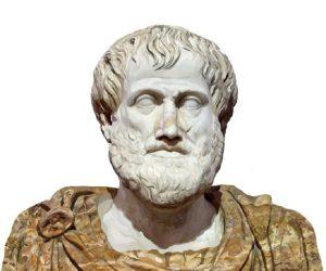 Copia en mármol de un busto de bronce griego por Lysippus, del. 330 DC. El manto de alabastro es moderno.