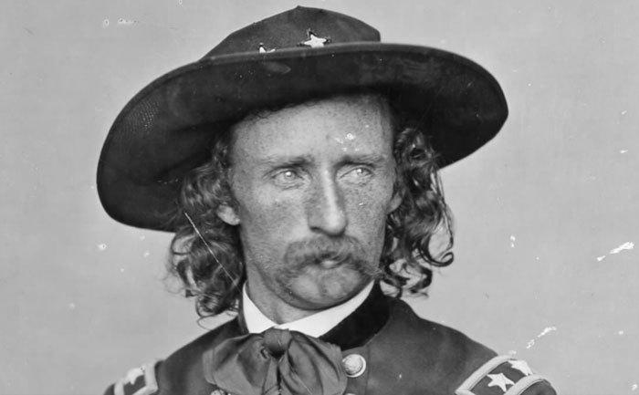 Custer general del séptimo de caballería