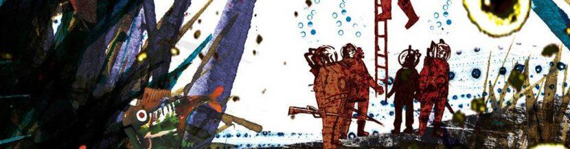 veinte mil leguas de viaje submarion de julio verne ilustrado por Comotto y editado por Nórdica