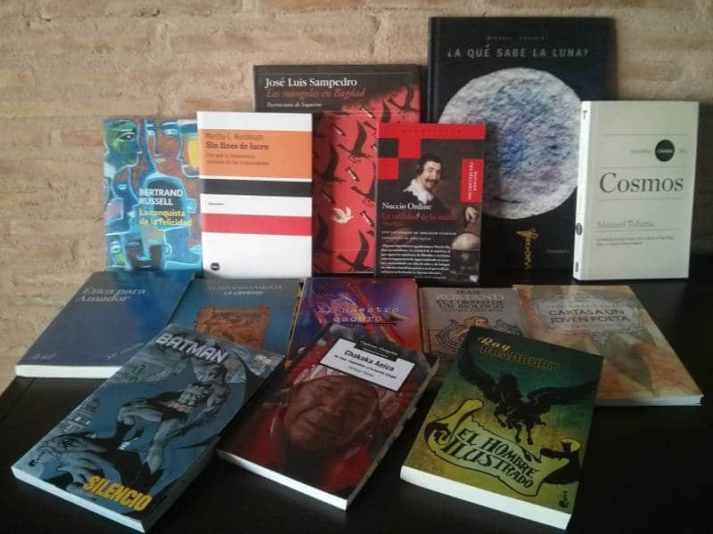 libros leídos en el 2016