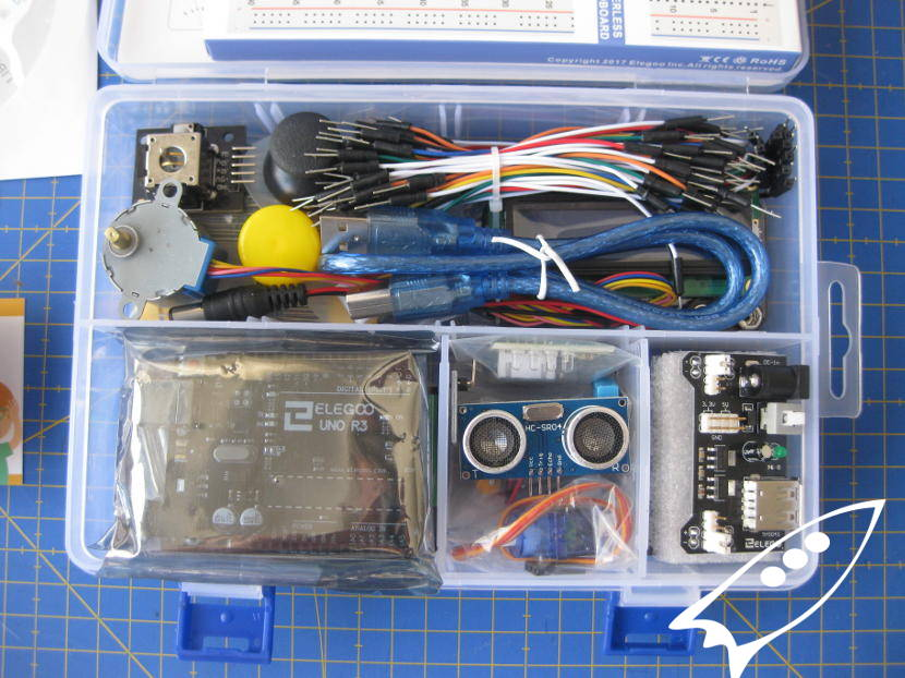 Kit de inicio a arduino super starter uno r project