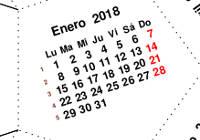 Calendario anual pdf sin semanas