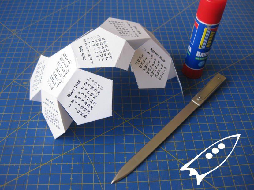 Como hacer un dodecaedro regular y pegarlo
