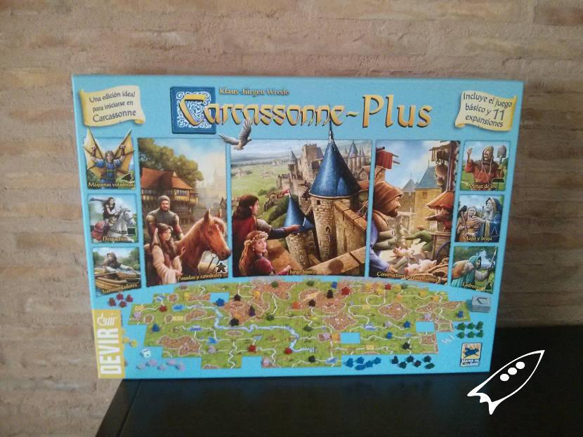 Juego clásico Carcassonne con 11 ampliaciones
