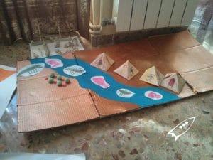 Proyecto de las pirámides de Egipto para los niños