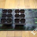 Manta calefactora para germinar semillas