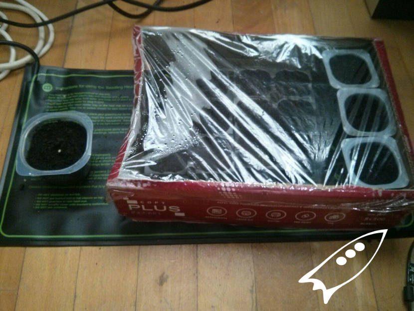 Mini invernadero casero para manta termica