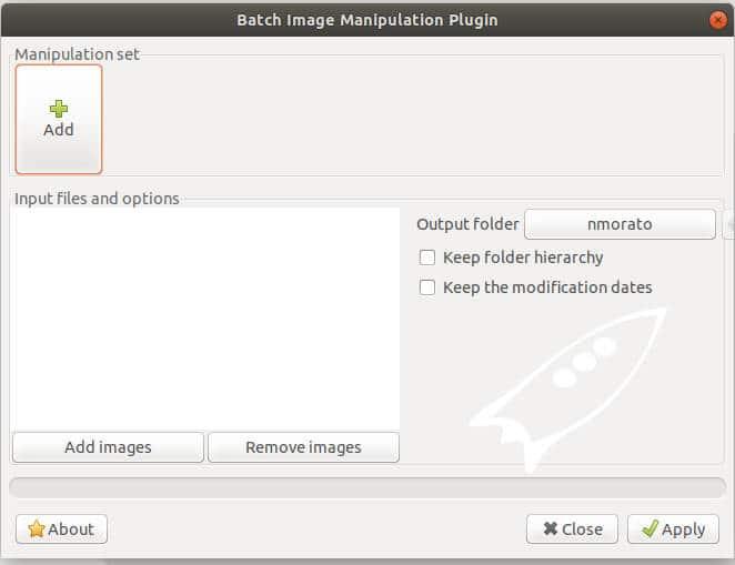 plugin bimp de manipulacin de imagenes en lotes para gimp