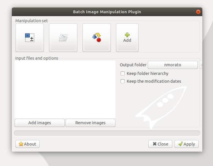 BIMP plugin de GIMP para editar y manipular imágenes y fotografías en lote