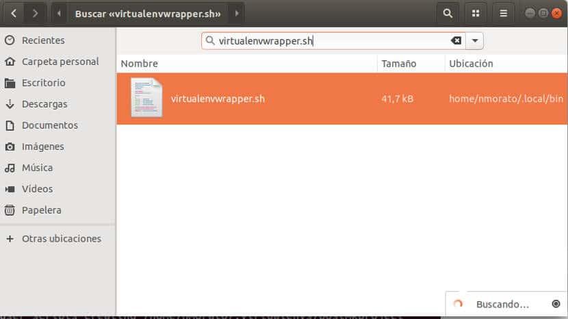 tutorial para buscar en nautilus de ubuntu