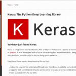 Cómo instalar Keras y TensorFlow de backend en Ubuntu