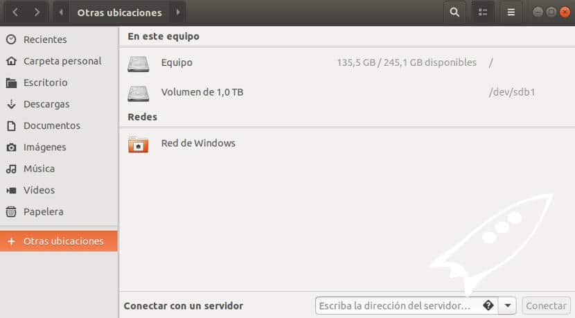 ir a raíz del disco duro linux ubuntu