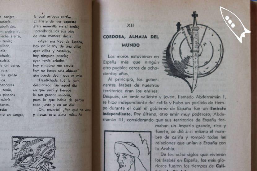 Páginas interiorres del libro de la dictadura
