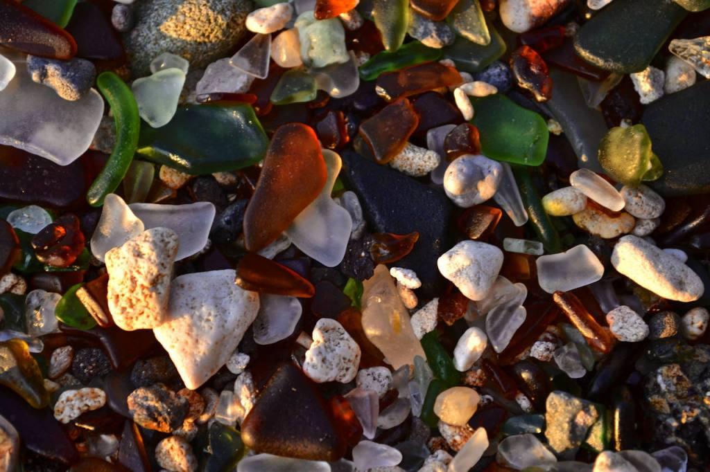 colores comunes y raros de las seaglass