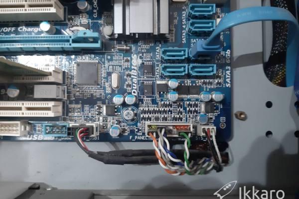 Mi ordenador enciende pero no sale nada en la pantalla