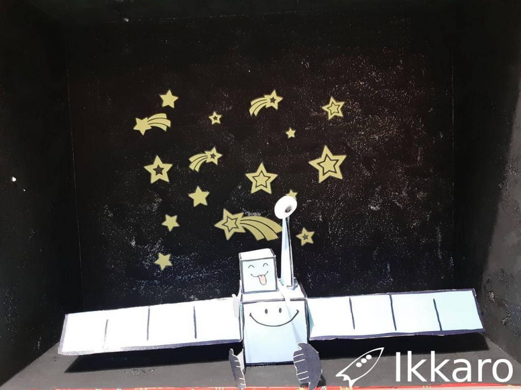 caja para el universo y apra alojar al sistema solar casero
