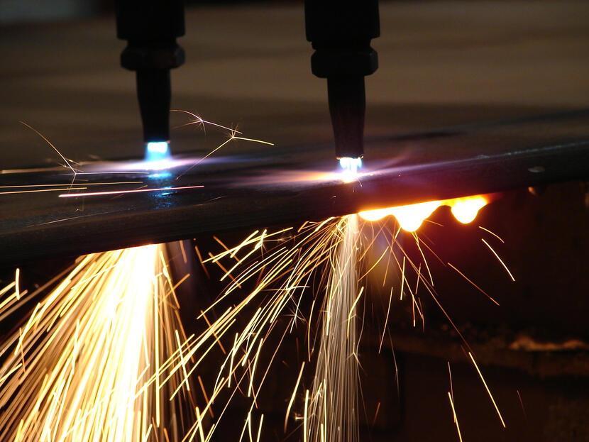 oxicorte técnica industrial de corte