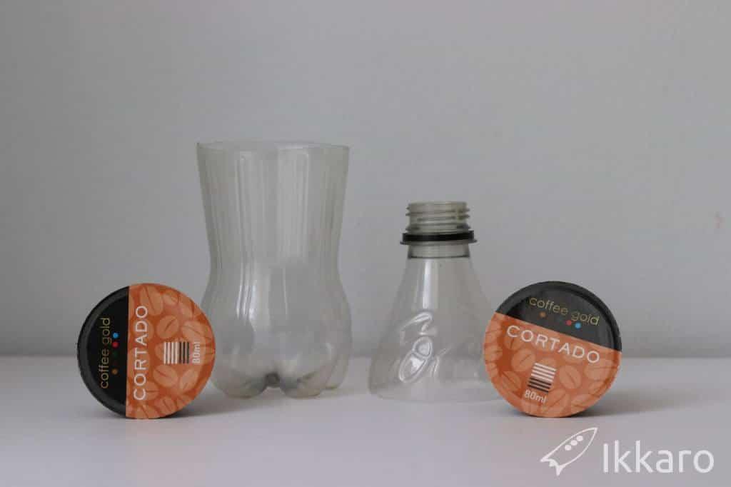 escurrridor casero para cápsulas monodosis de café
