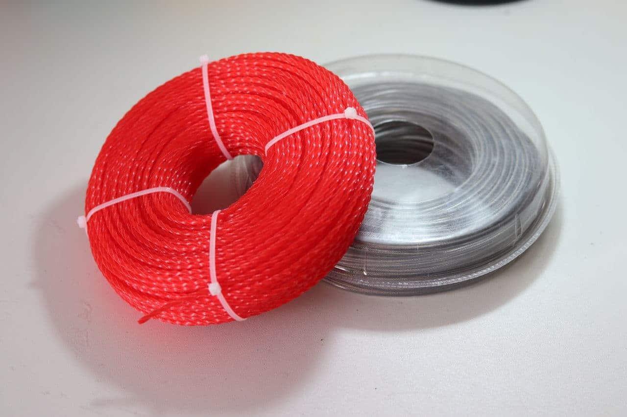 hilos de nylon y acero para desbrozadoras