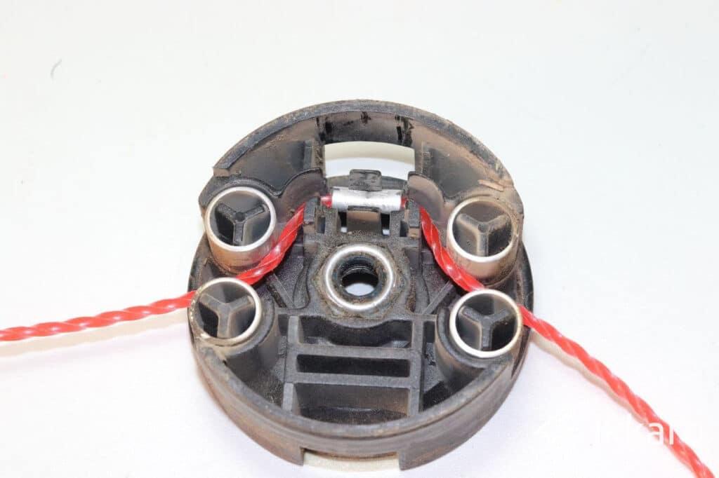Cómo hacer recambios baratos de hilo de nylon para desbrozadoras Bosch