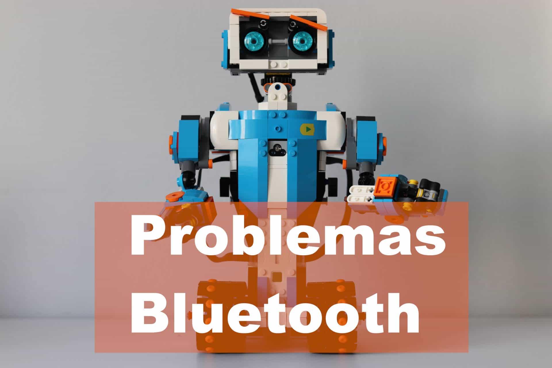 lego boost con problemas para conectar el bluetooth con la tablet