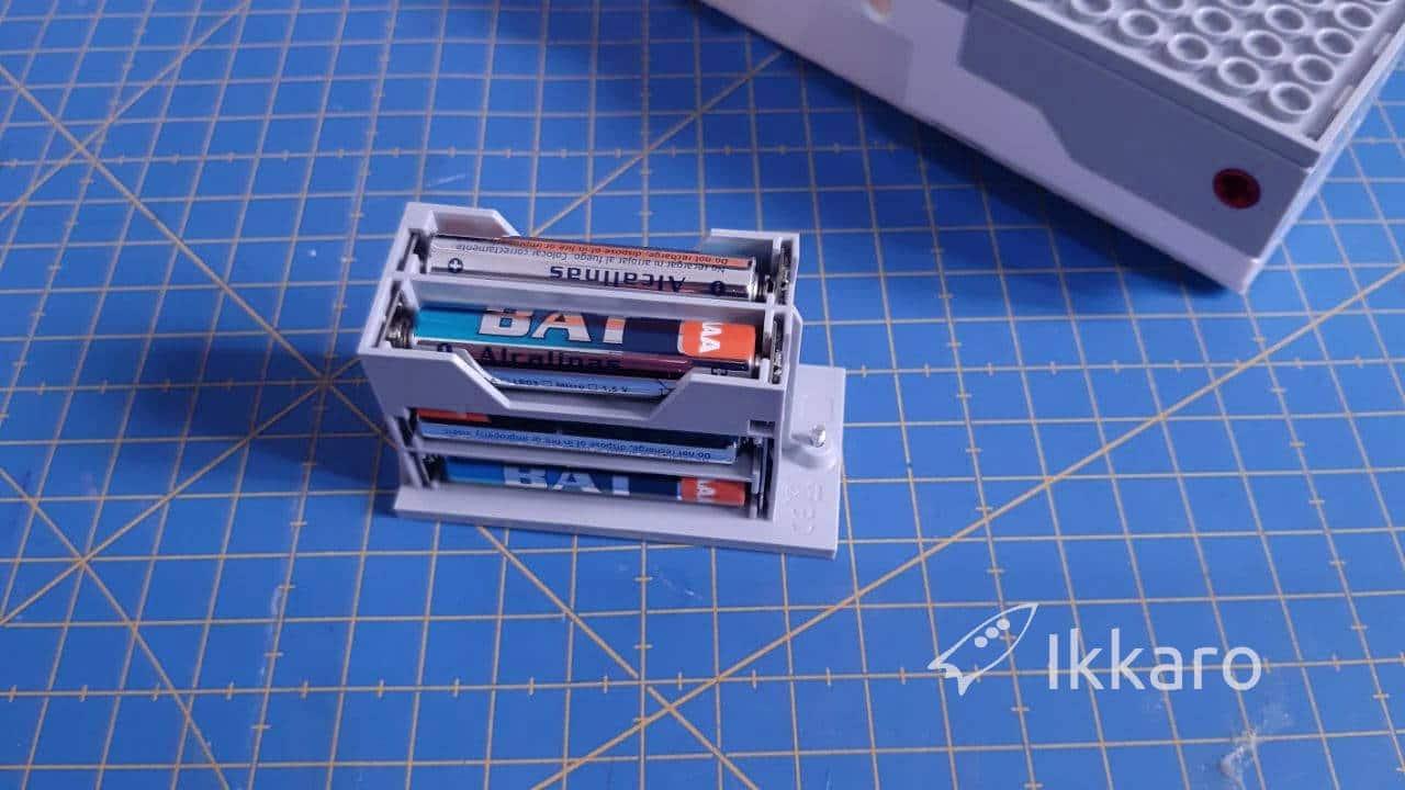 Pilas, batería del move hub