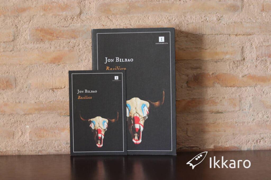 Basilisco novela de Jon Bilbao