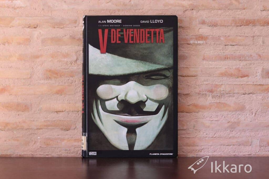 V de Vendetta de Alan Moore y David Lloyd