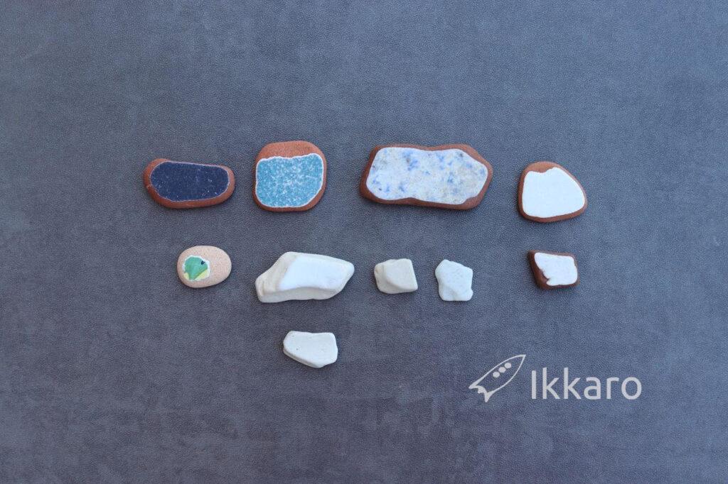 Colección de Sea pottery completa