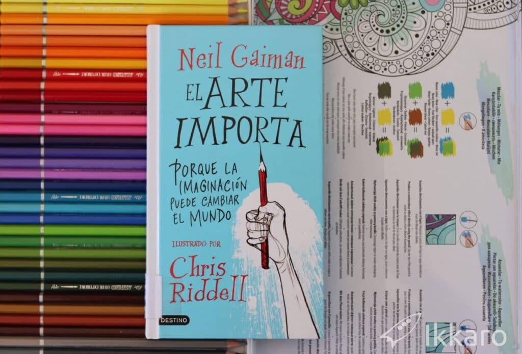 reseña y notas de el arte importa de neil gaiman y chris ridell