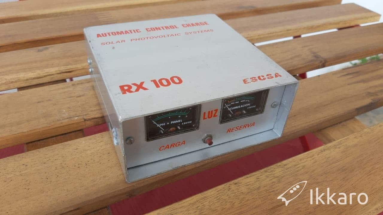 regulador de carga solar para baterías