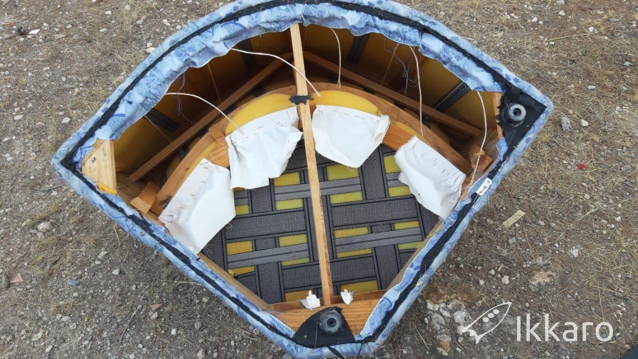 reciclar estructura de sofá