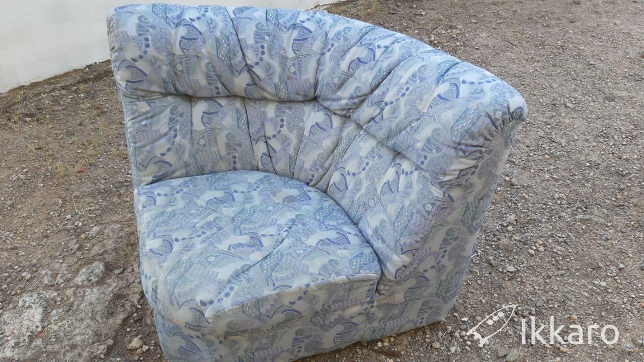 reciclar partes de un sofá