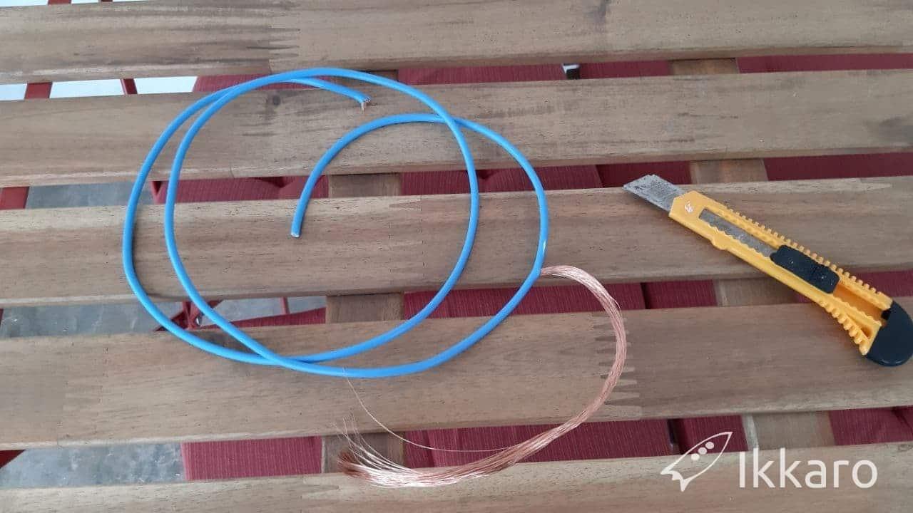 cable de cobre para trampa de caracoles